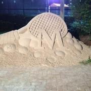 Tennis-Sand-Castle